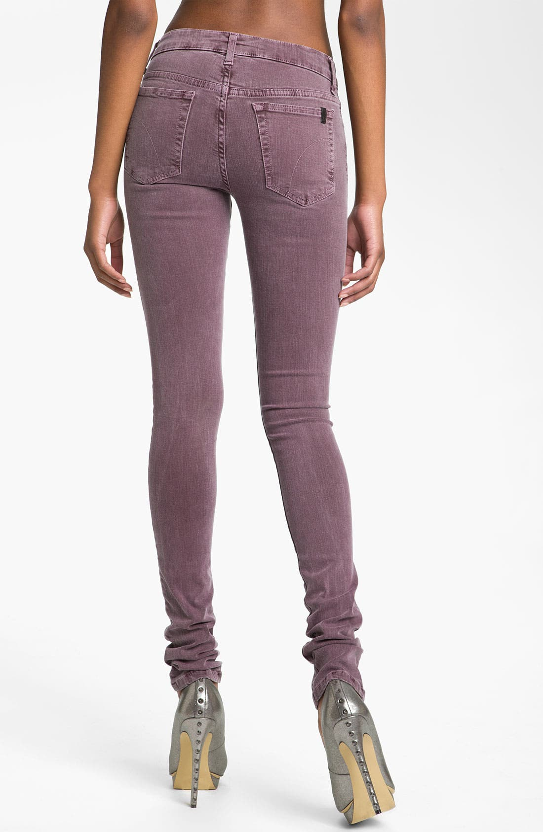 Alternate Image 2  - Joe's Skinny Stretch Denim Jeans (Port)