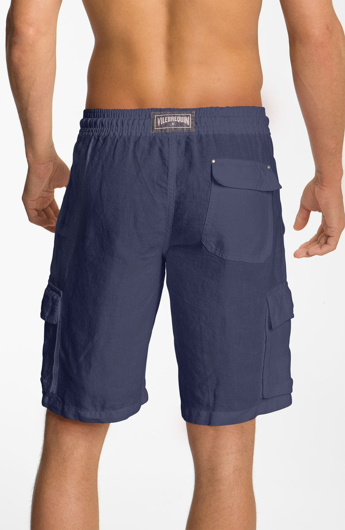 Alternate Image 2  - Vilebrequin 'Baie' Linen Shorts