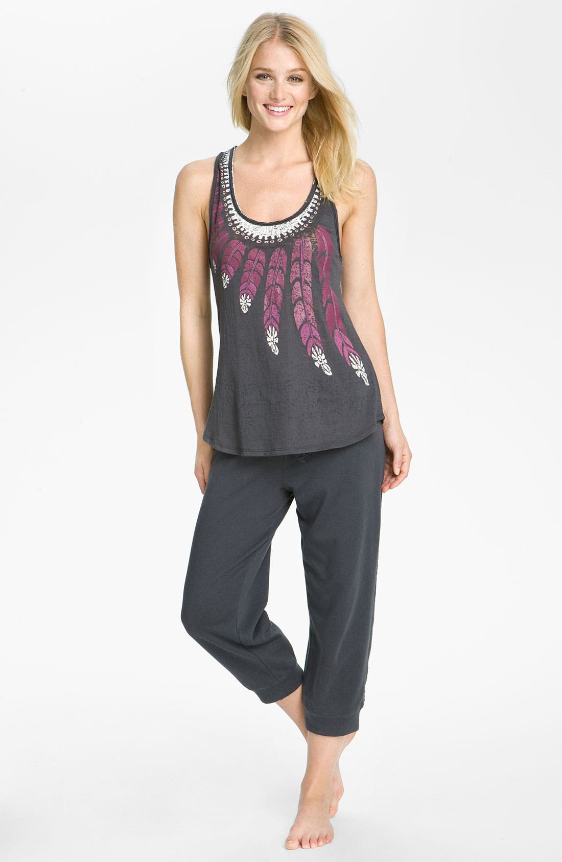 Alternate Image 5  - Steve Madden Lounge Capris