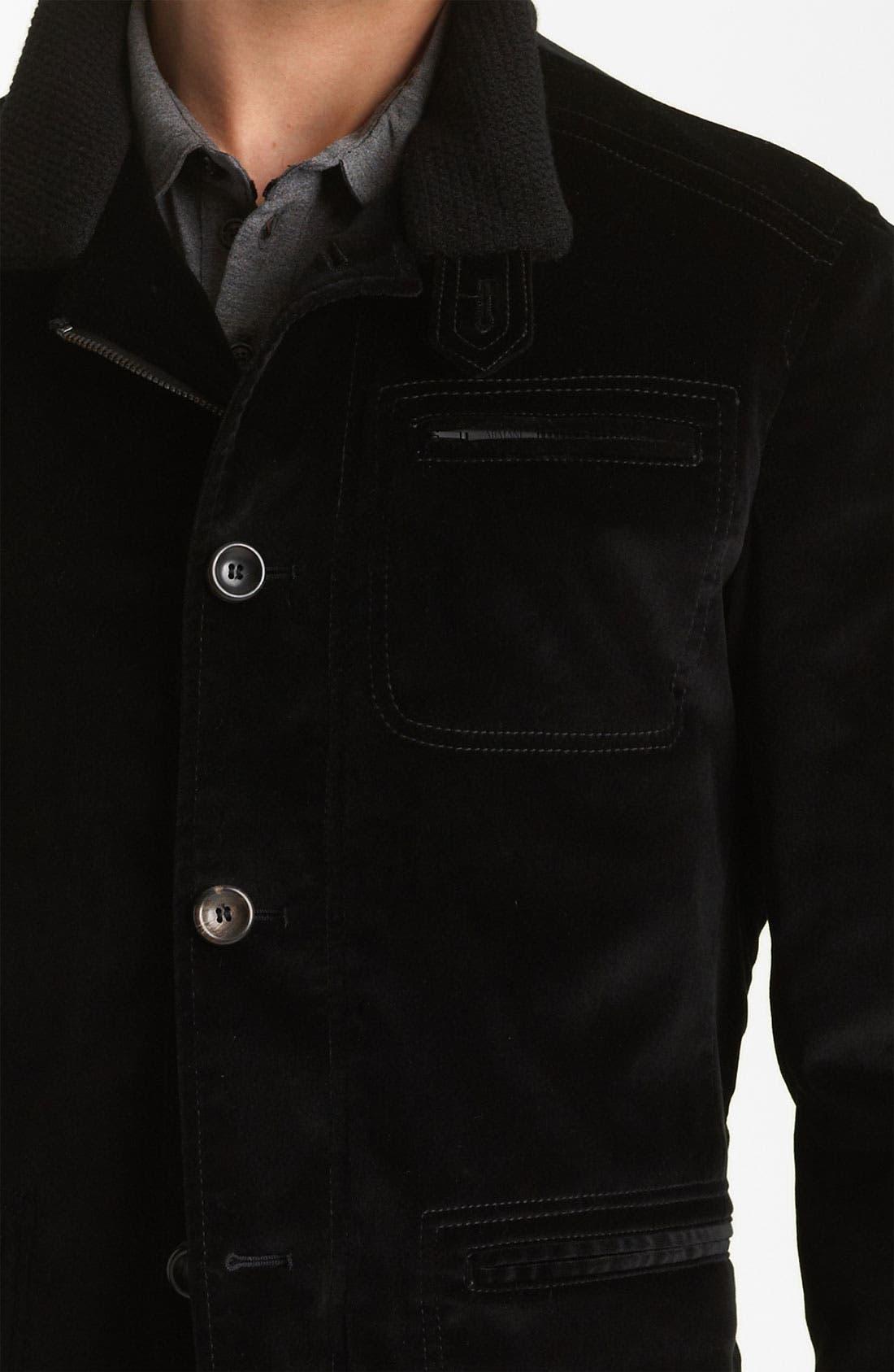 Alternate Image 4  - Armani Collezioni Velvet Jacket