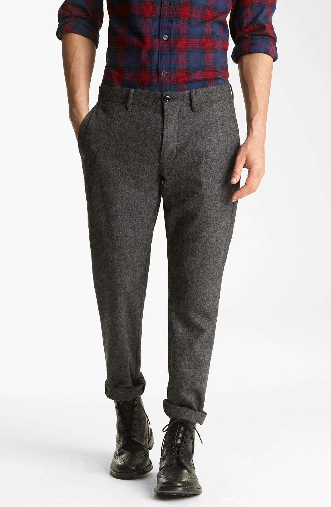 Alternate Image 1 Selected - Todd Snyder Wool Trousers