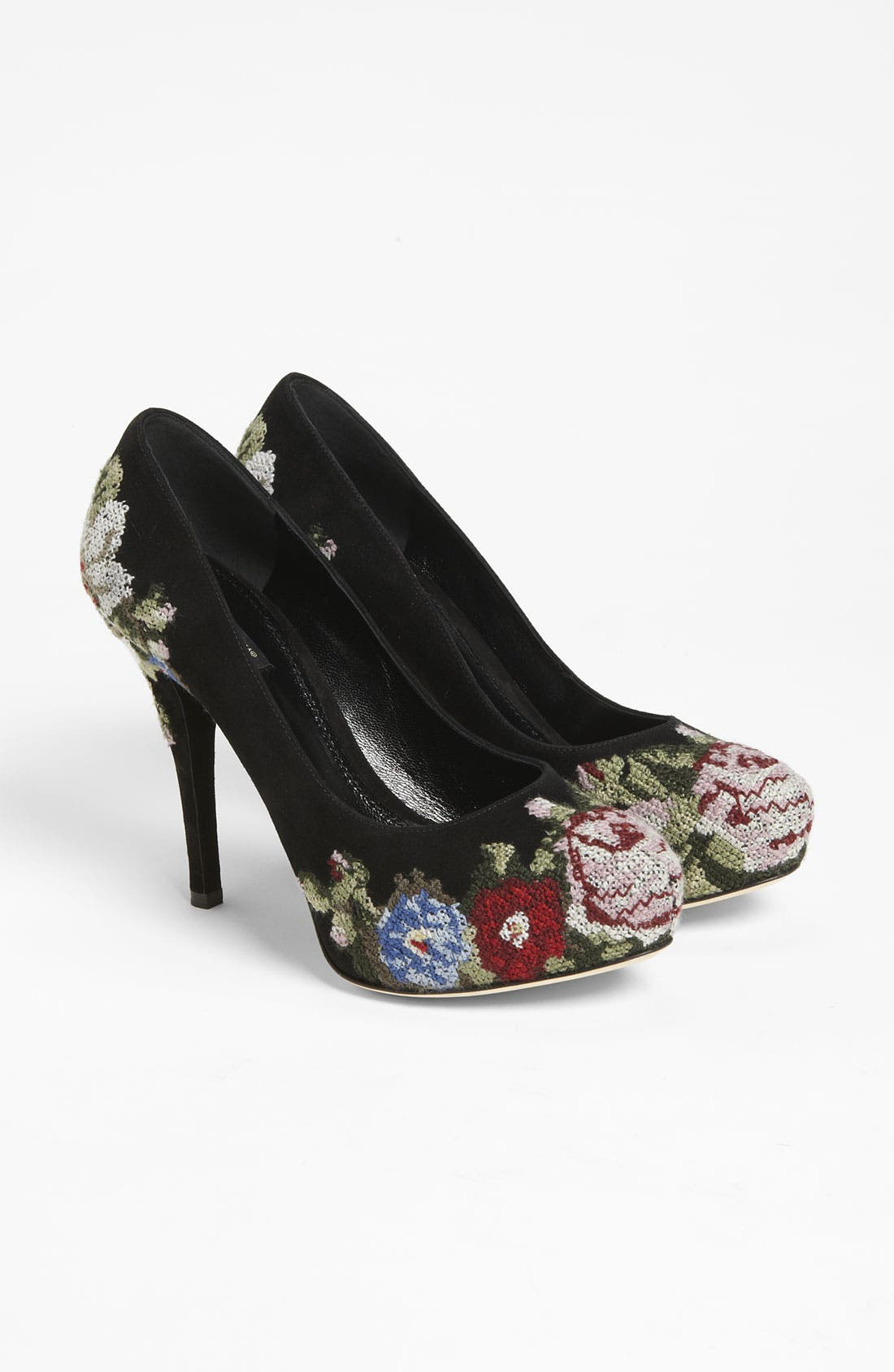 Alternate Image 4  - Dolce&Gabbana Tapestry Platform Pump