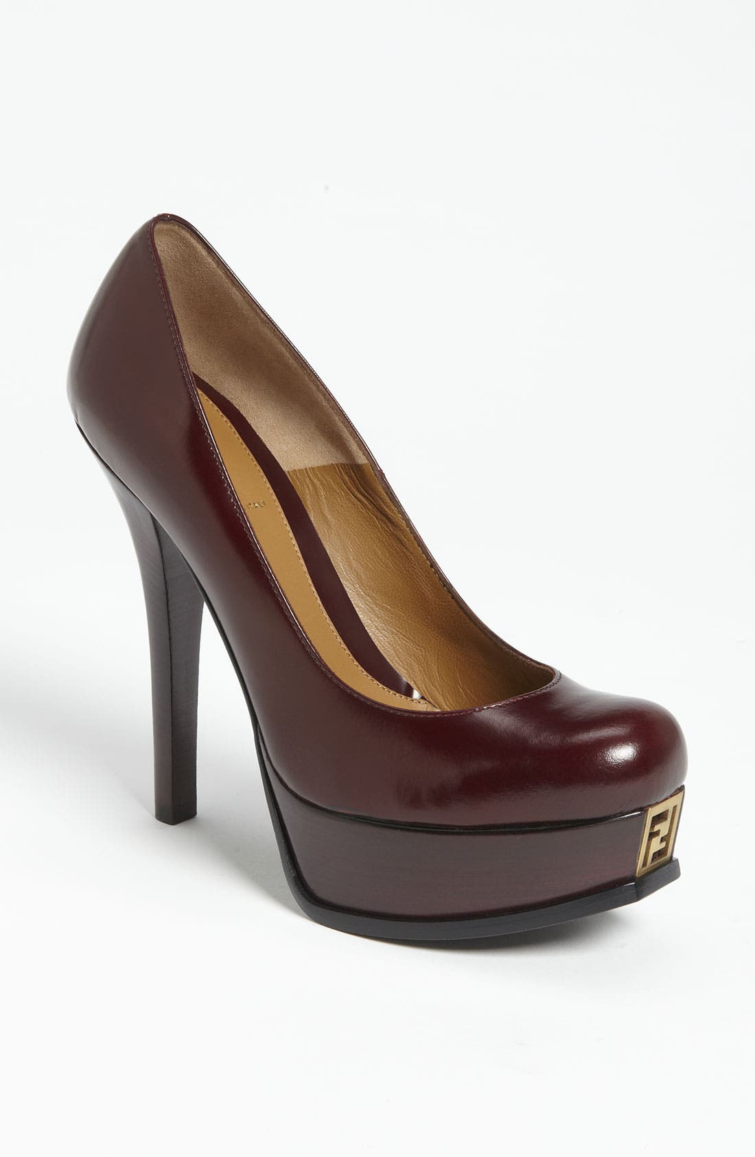 Alternate Image 1 Selected - Fendi 'Fendista' Platform Pump