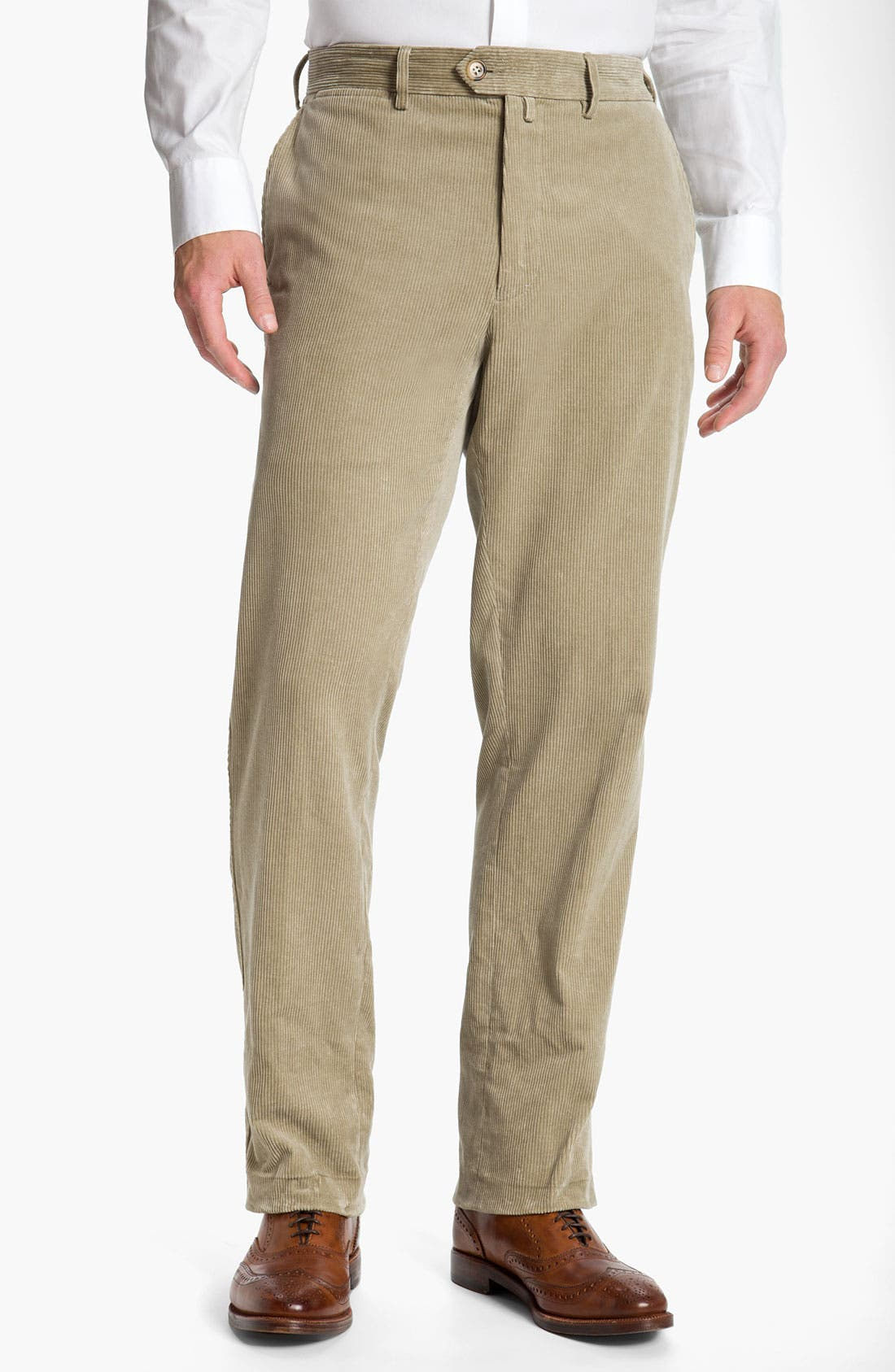 Alternate Image 1 Selected - Façonnable Corduroy Pants