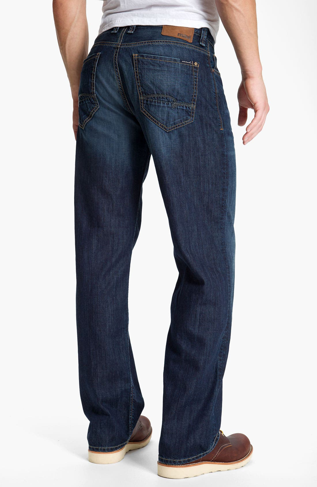 Alternate Image 1 Selected - Mavi Jeans 'Max' Relaxed Fit Jeans (Dark Spring)