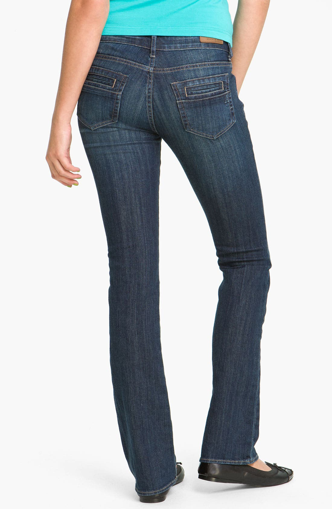 Main Image - Articles of Society 'Kendra' Bootcut Jeans (Topaz) (Juniors)