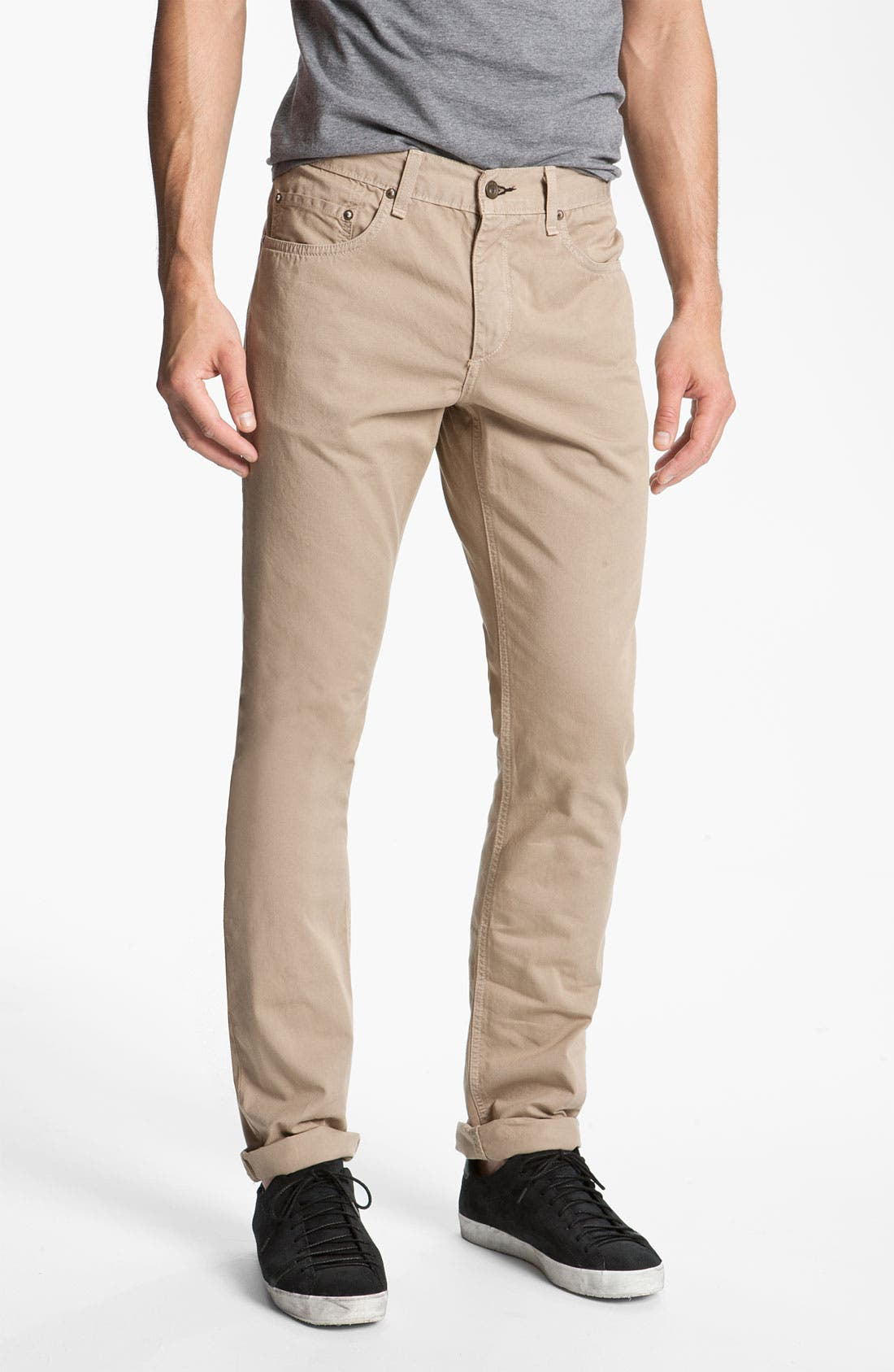 Alternate Image 1 Selected - rag & bone 'RB15X' Slim Straight Leg Jeans