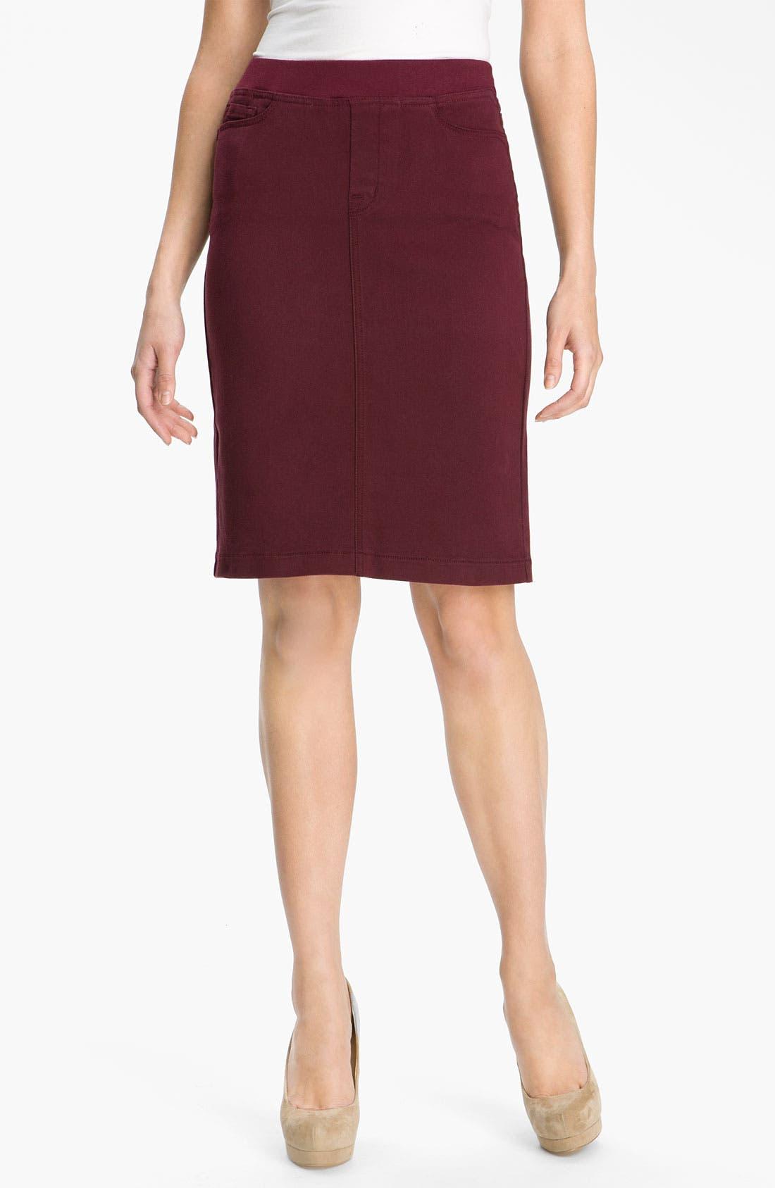 Alternate Image 1 Selected - NYDJ 'Caitlyn' Pull On Skirt