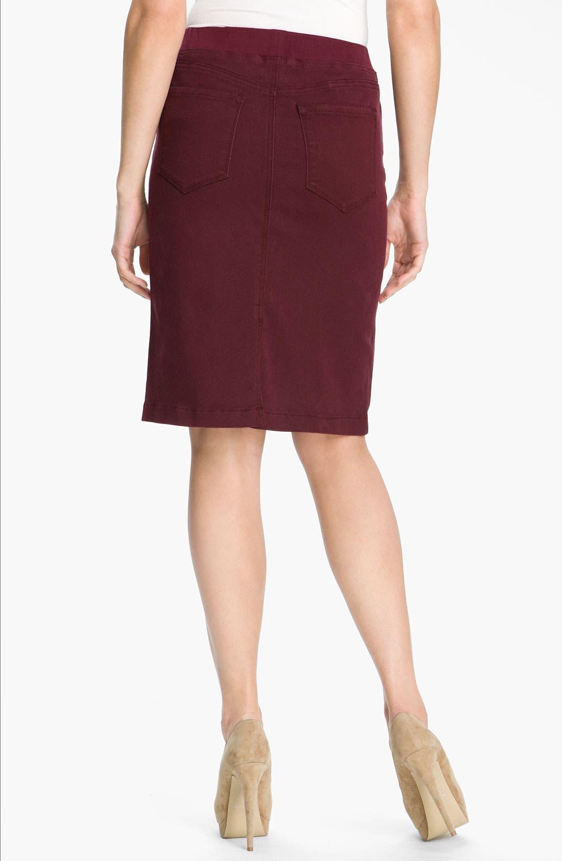Alternate Image 2  - NYDJ 'Caitlyn' Pull On Skirt