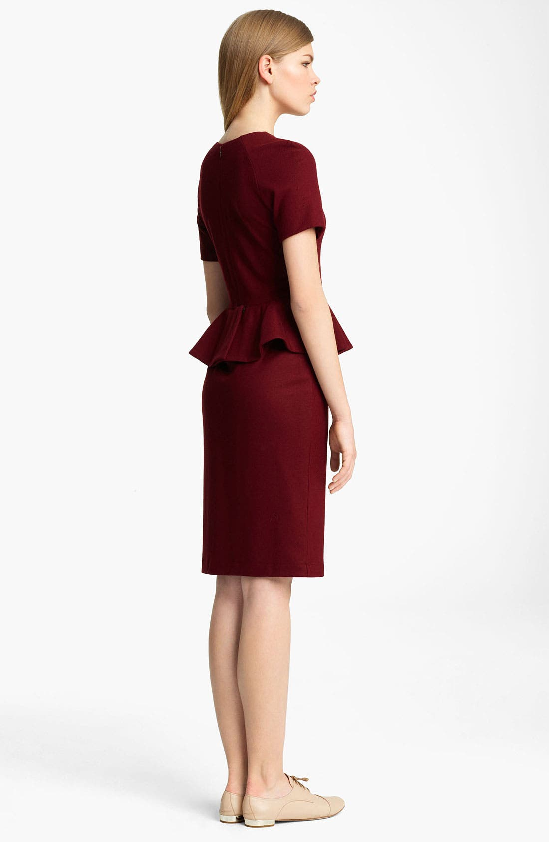 Alternate Image 2  - Jil Sander Peplum Dress