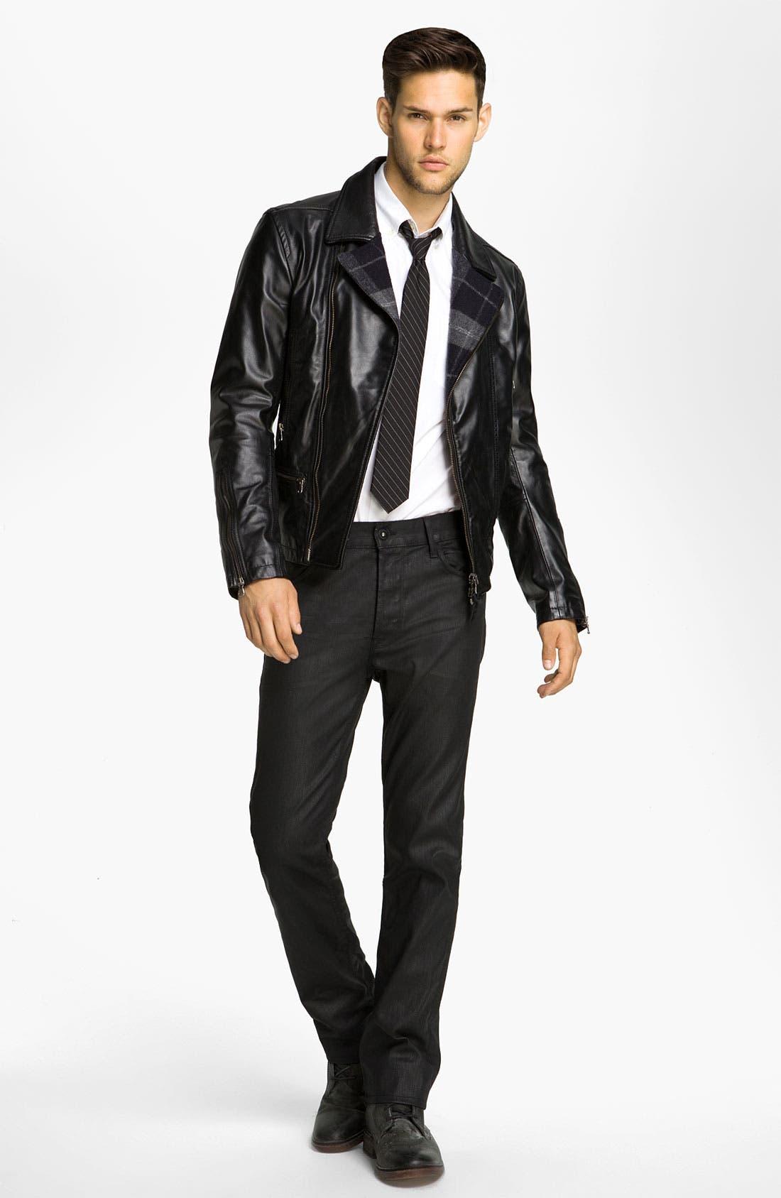 Alternate Image 4  - Edun Leather Moto Jacket
