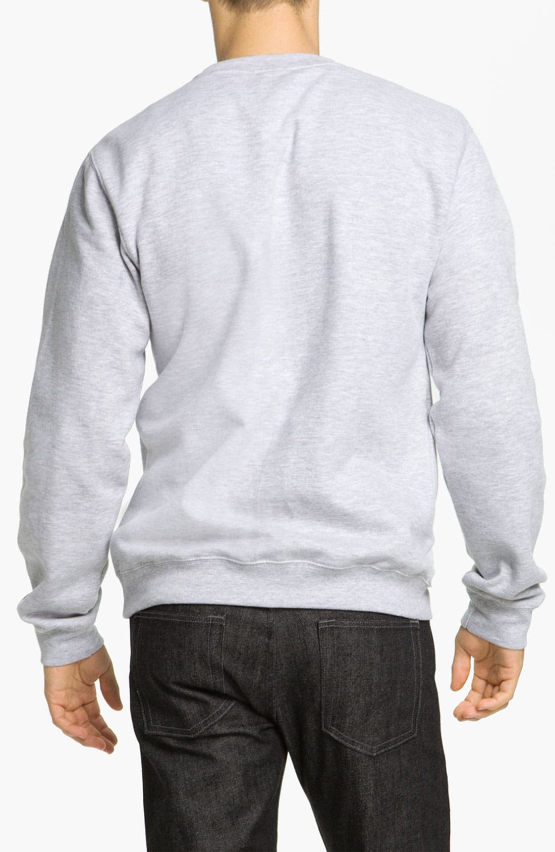 Alternate Image 2  - Obey 'Haring Eyes' Graphic Crewneck Sweatshirt
