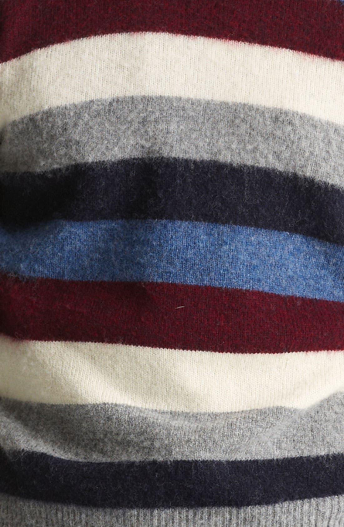 Alternate Image 3  - Gant by Michael Bastian Stripe Wool Sweater