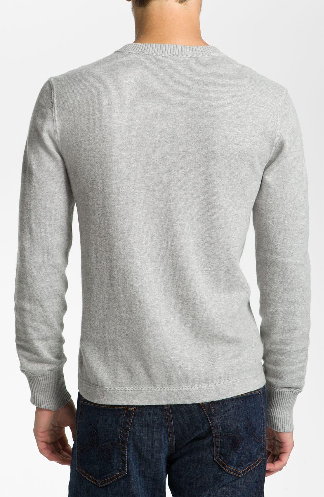 Alternate Image 2  - Façonnable Cotton & Cashmere Knit Henley