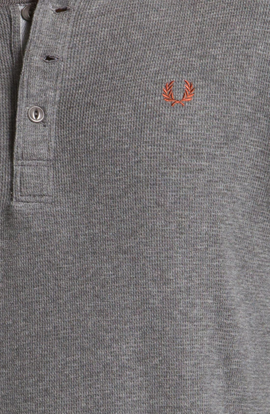 Alternate Image 3  - Fred Perry Long Sleeve Henley