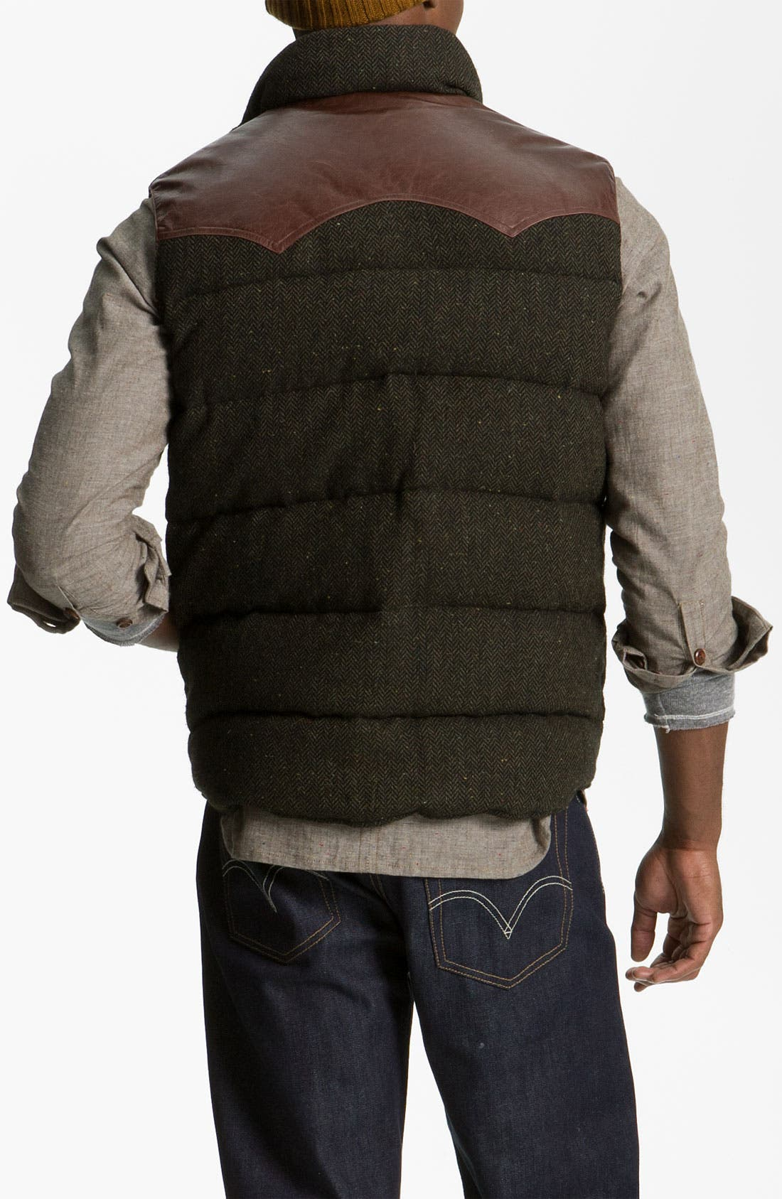 Alternate Image 2  - Penfield 'Stapleton' Herringbone Tweed Down Vest
