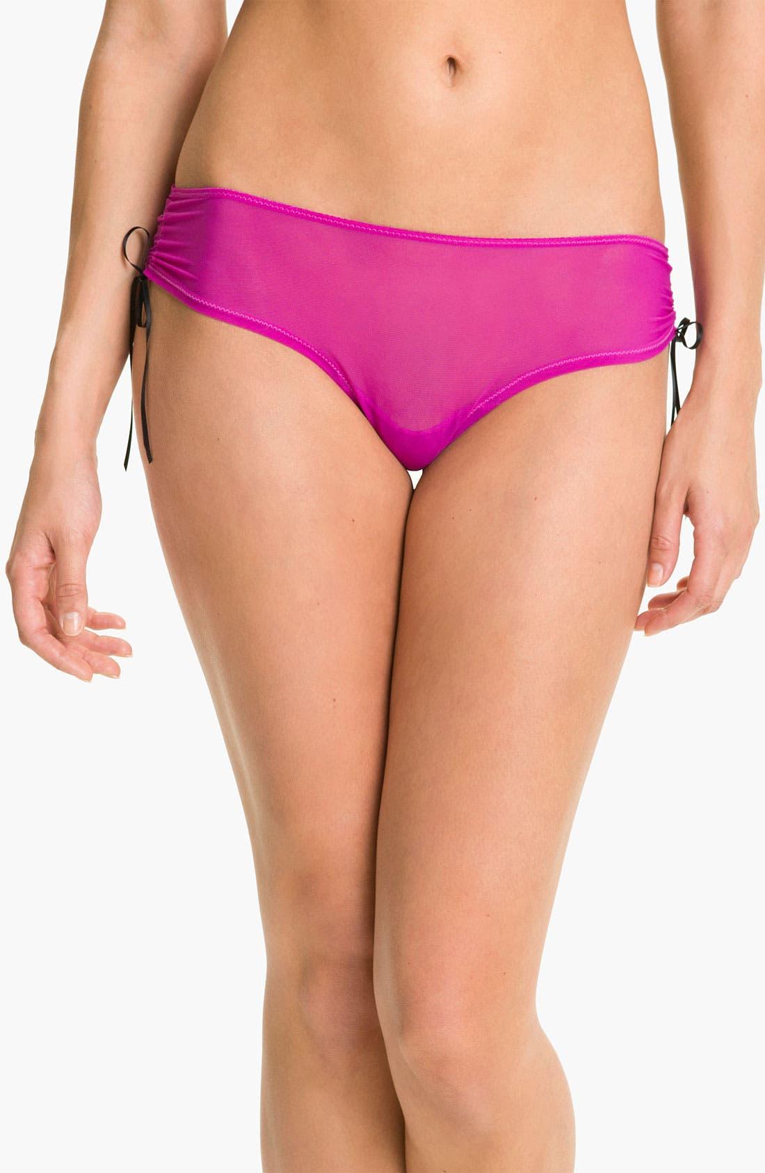 Alternate Image 1 Selected - Betsey Johnson 'It's a Cinch' Girl Leg Briefs