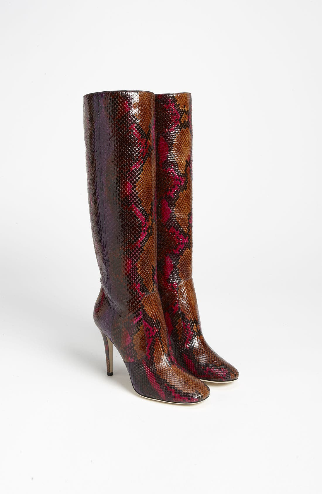 Alternate Image 4  - Jimmy Choo 'Tosca' Genuine Python Pull-On Boot