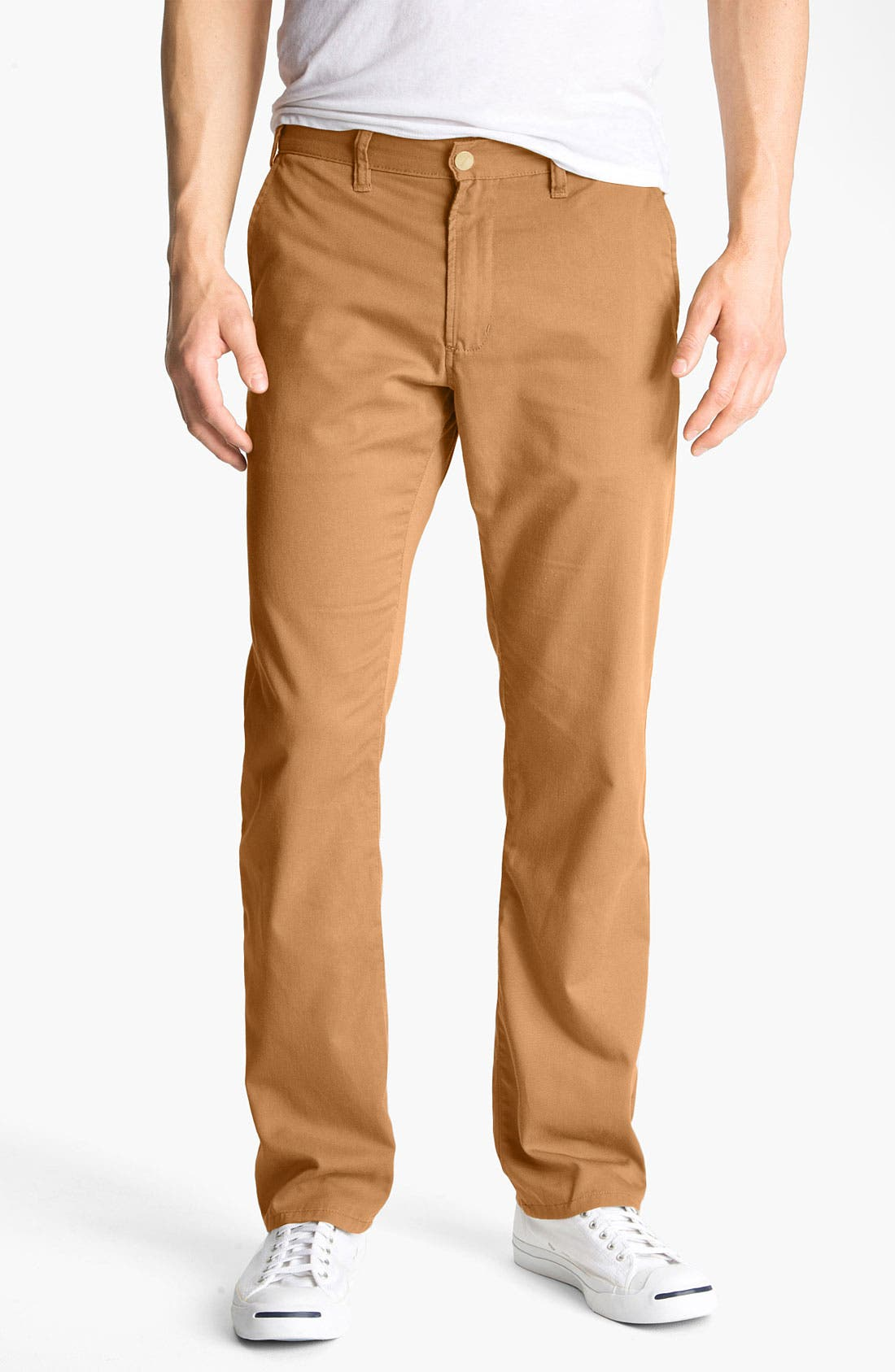 Alternate Image 1 Selected - Toddland 'The Greatest Pants in the Universe' Straight Leg Chinos (Online Only)