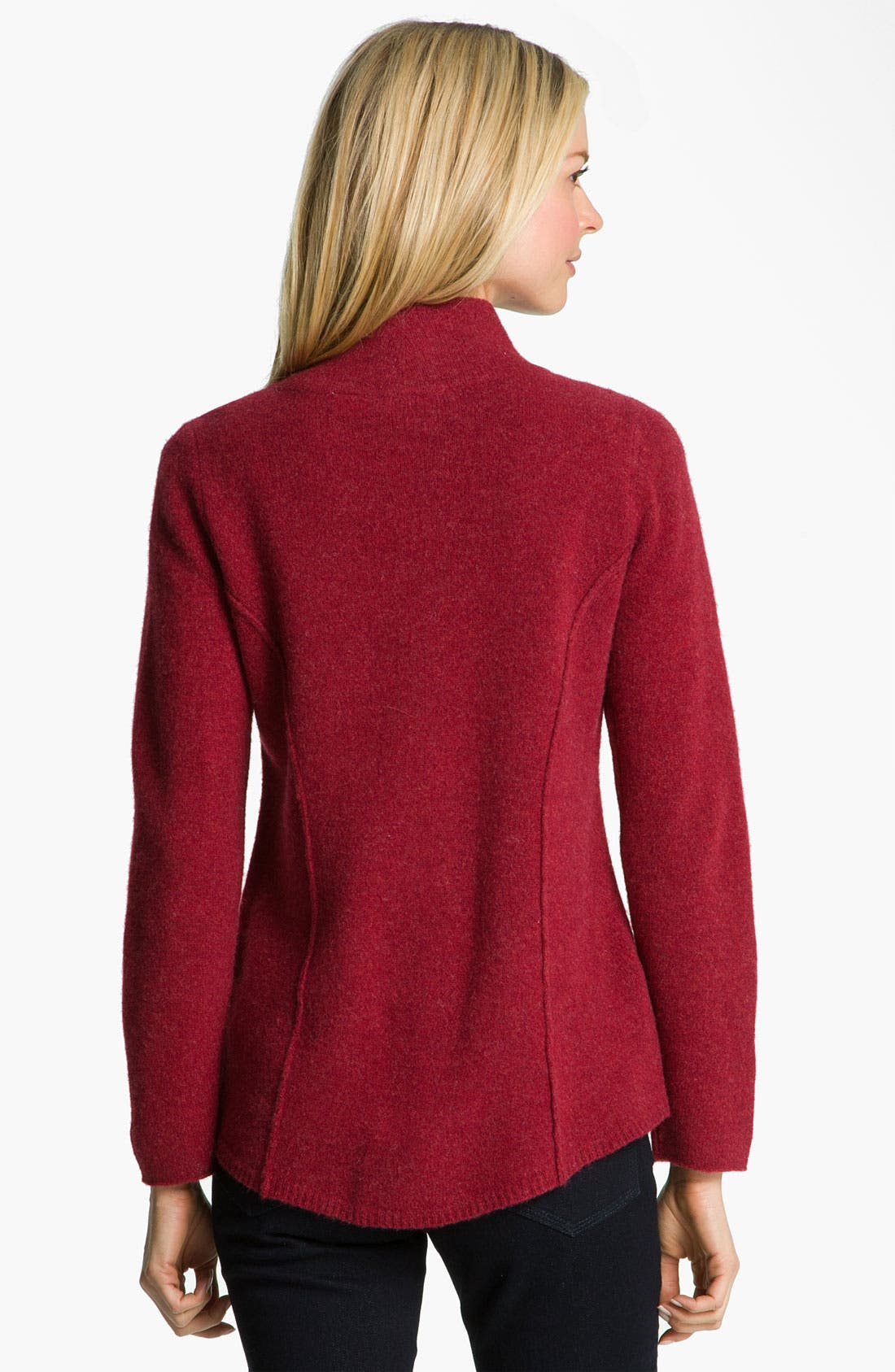 Alternate Image 2  - Eileen Fisher Felted Merino Lambswool Jacket