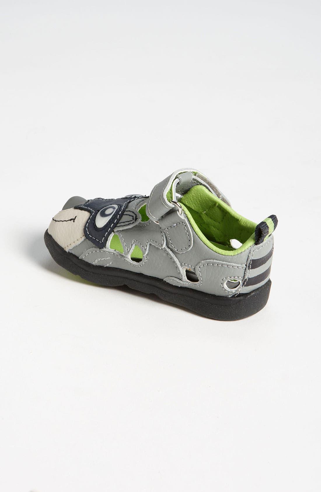Alternate Image 2  - Zooligans™ 'Raccoon' Sport Sandal (Baby, Walker & Toddler)