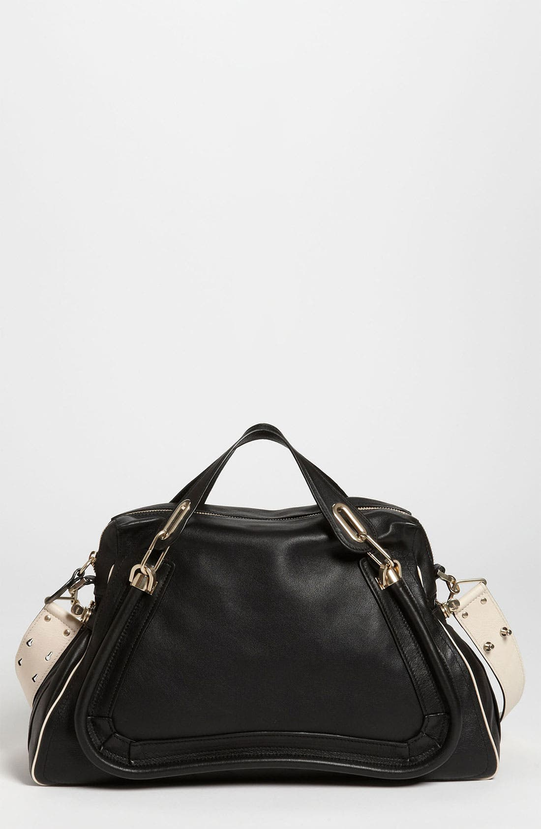 Alternate Image 1 Selected - Chloé 'Military Paraty - Large' Leather Satchel