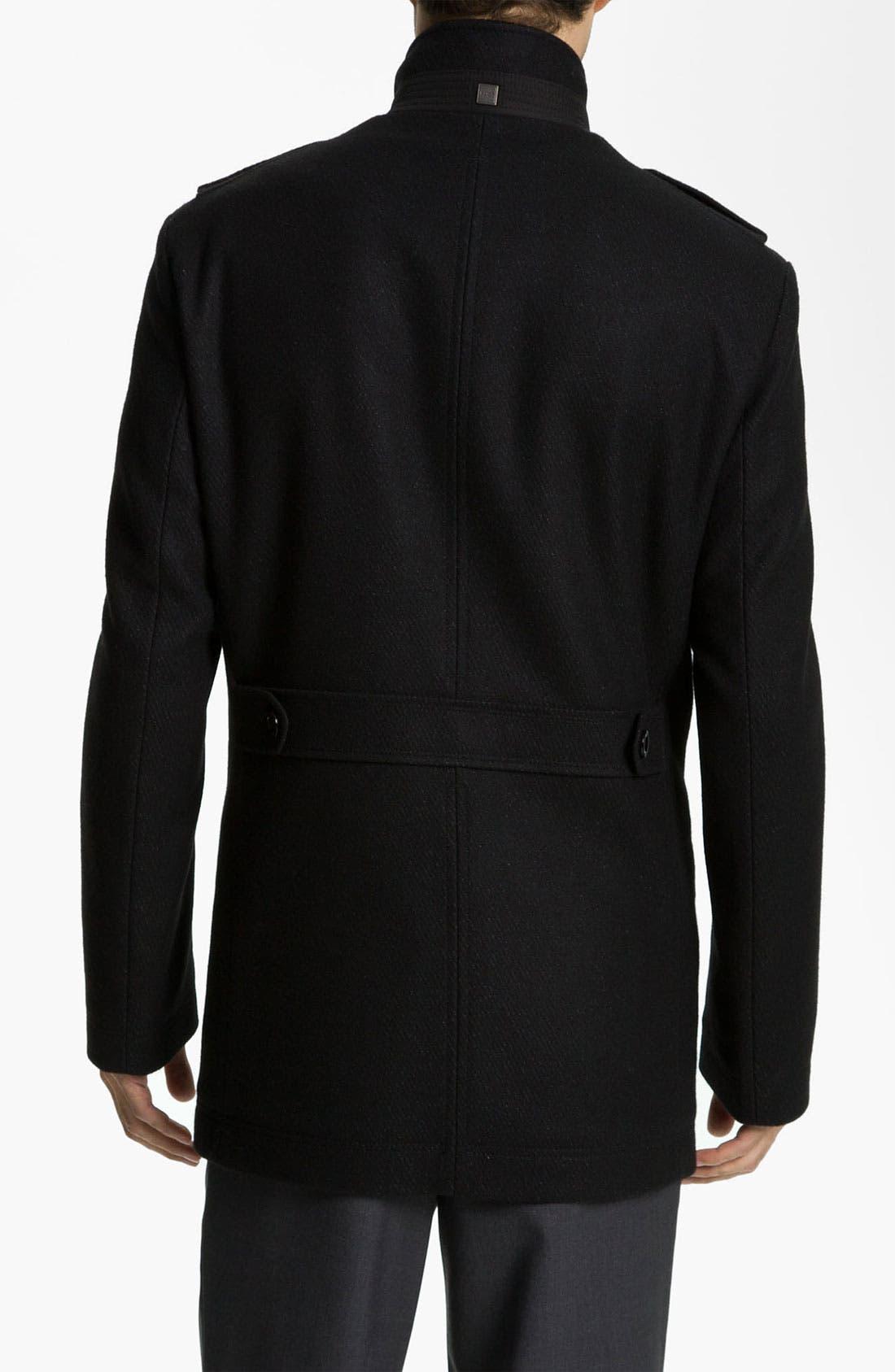 Alternate Image 2  - BOSS Black 'Cossum' Coat