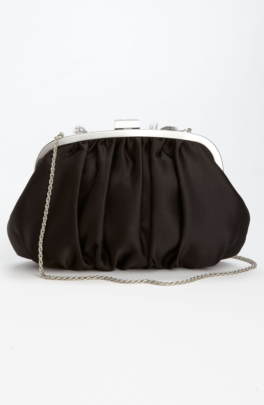 Alternate Image 4  - Nina Satin Clutch