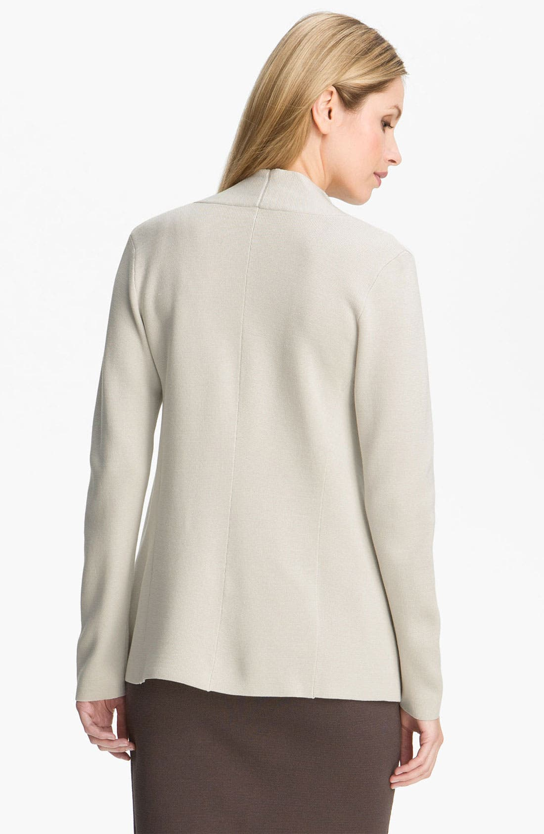 Alternate Image 2  - Eileen Fisher Silk & Cotton Knit Cardigan