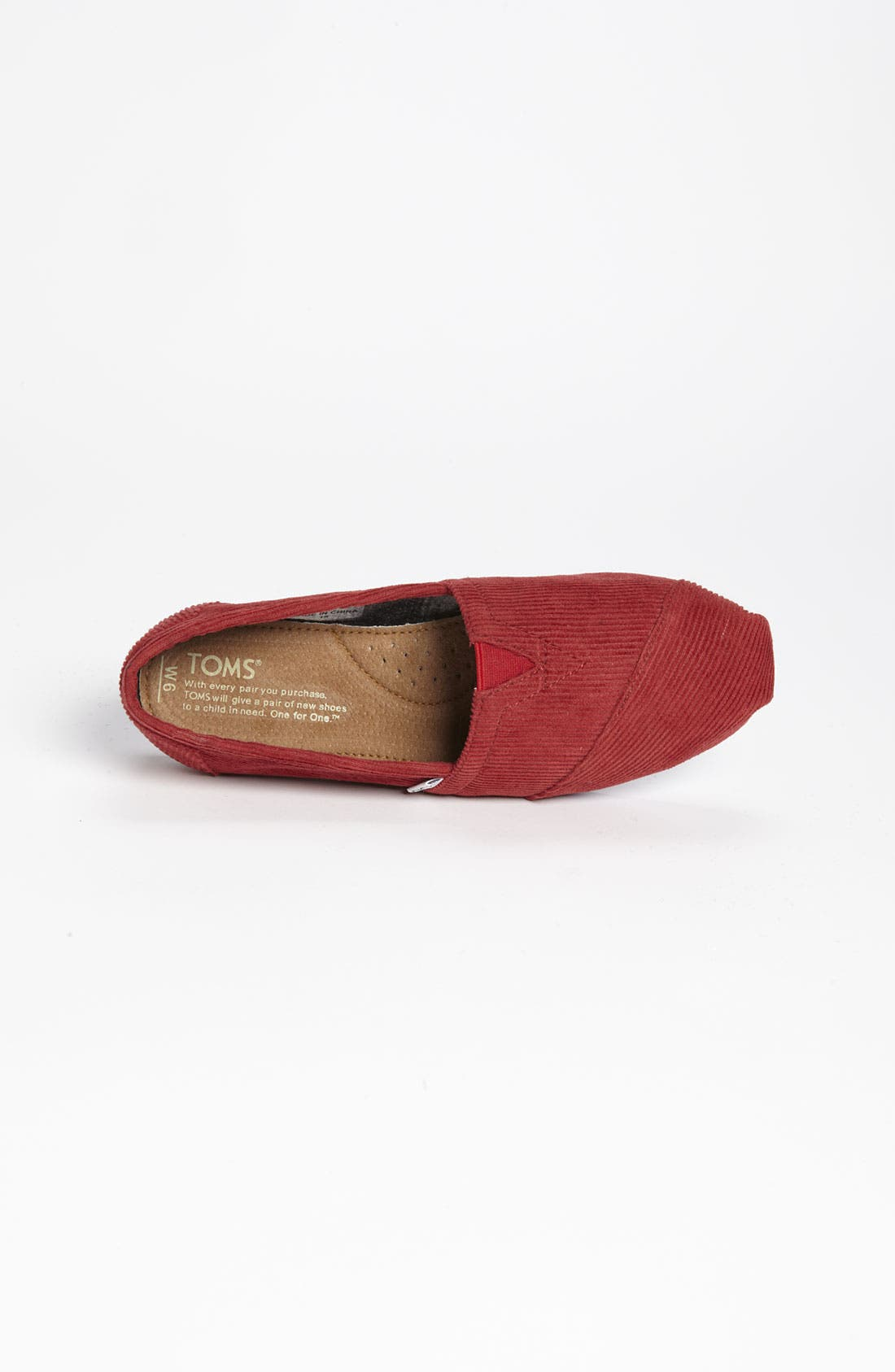 Alternate Image 3  - TOMS 'Classic - Color Pop' Corduroy Slip-On (Women)