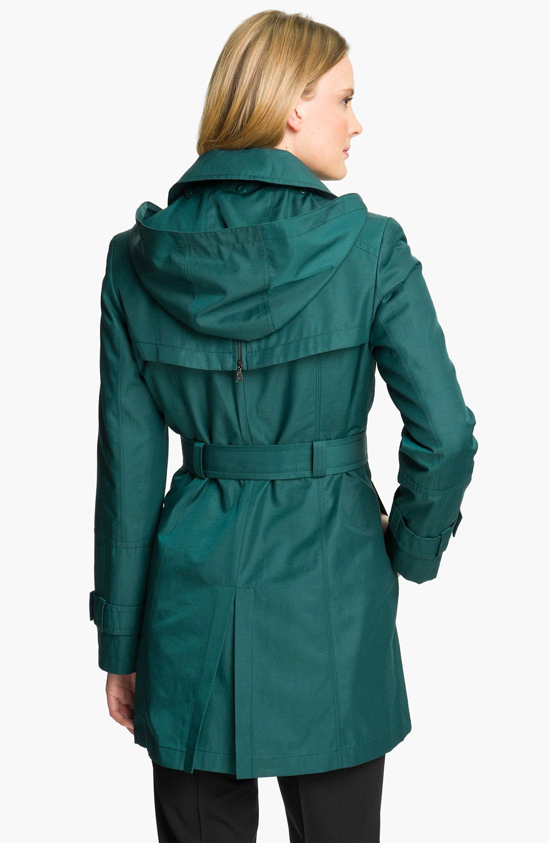 Alternate Image 2  - Gallery Trench Coat with Detachable Liner