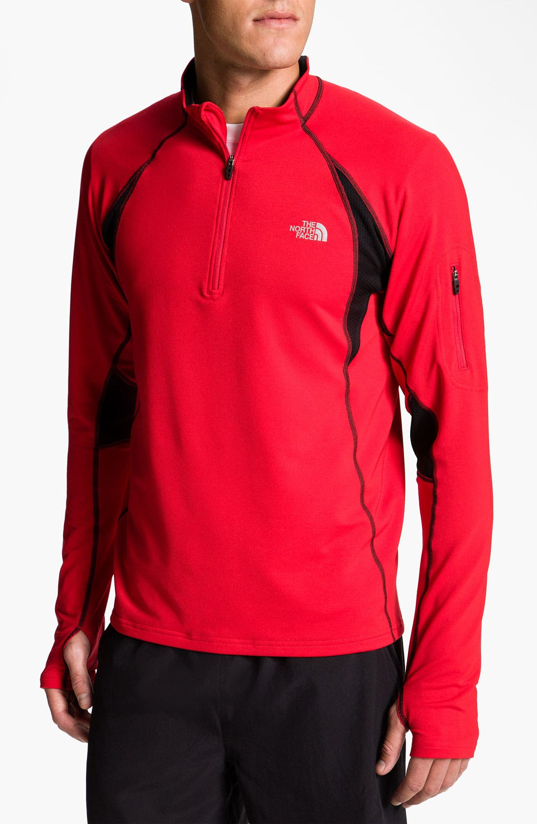 Alternate Image 1 Selected - The North Face 'Impulse' Quarter Zip Pullover