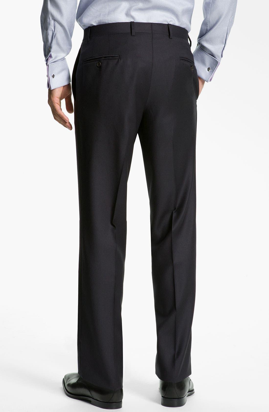 Alternate Image 5  - Ted Baker London 'Jones' Trim Fit Stripe Suit