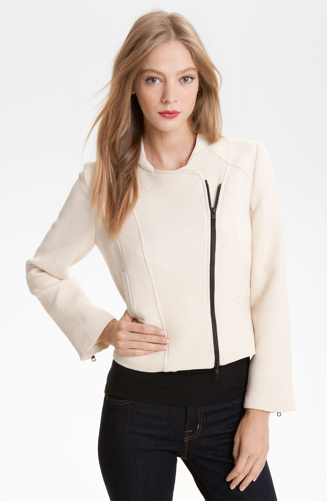 Alternate Image 1 Selected - Milly 'Zoe' Crop Jacket