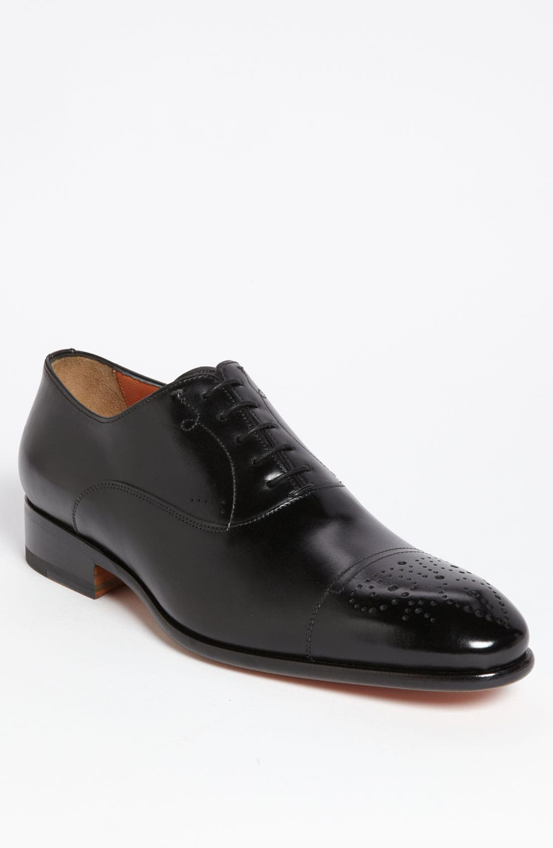 Alternate Image 1 Selected - Santoni 'Stafford' Cap Toe Oxford (Men)