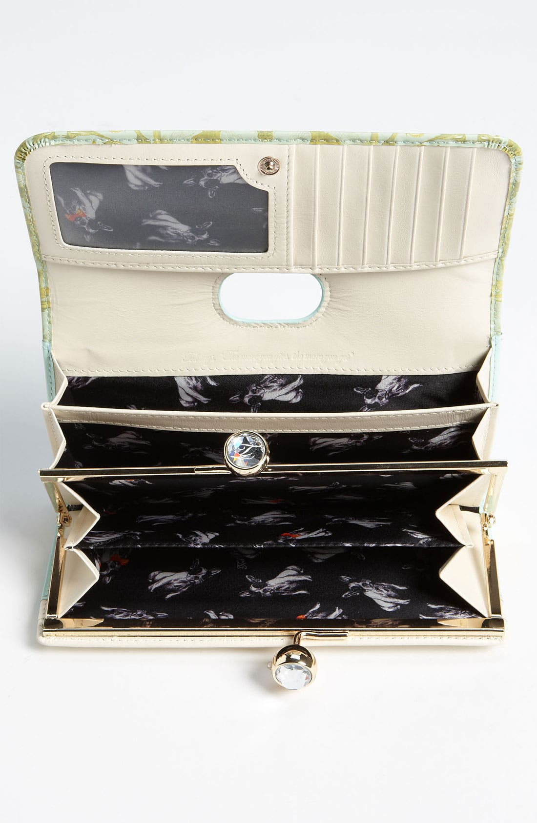 Alternate Image 3  - Ted Baker London 'Equestrian Print' Matinee Wallet
