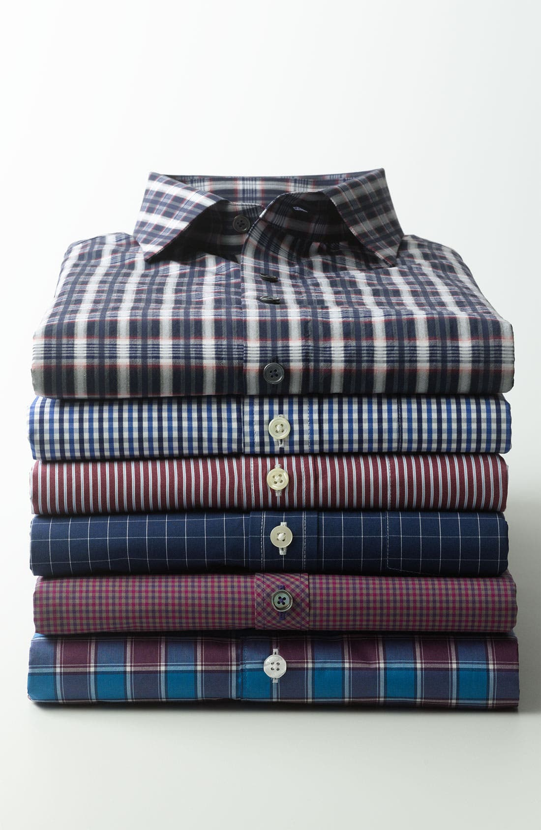 Alternate Image 4  - Façonnable Club Fit Sport Shirt