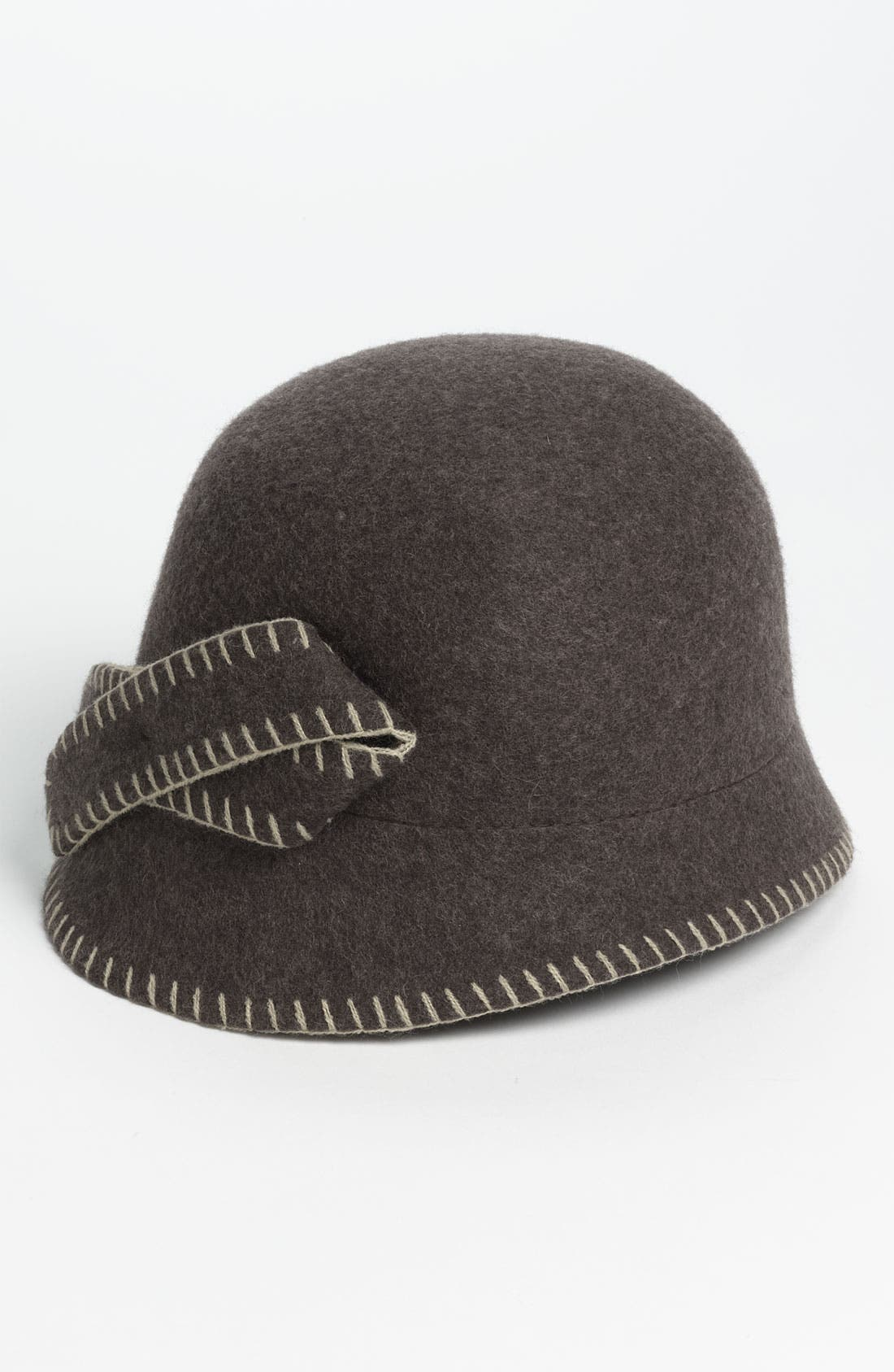 Main Image - Nordstrom Whipstitch Wool Cloche