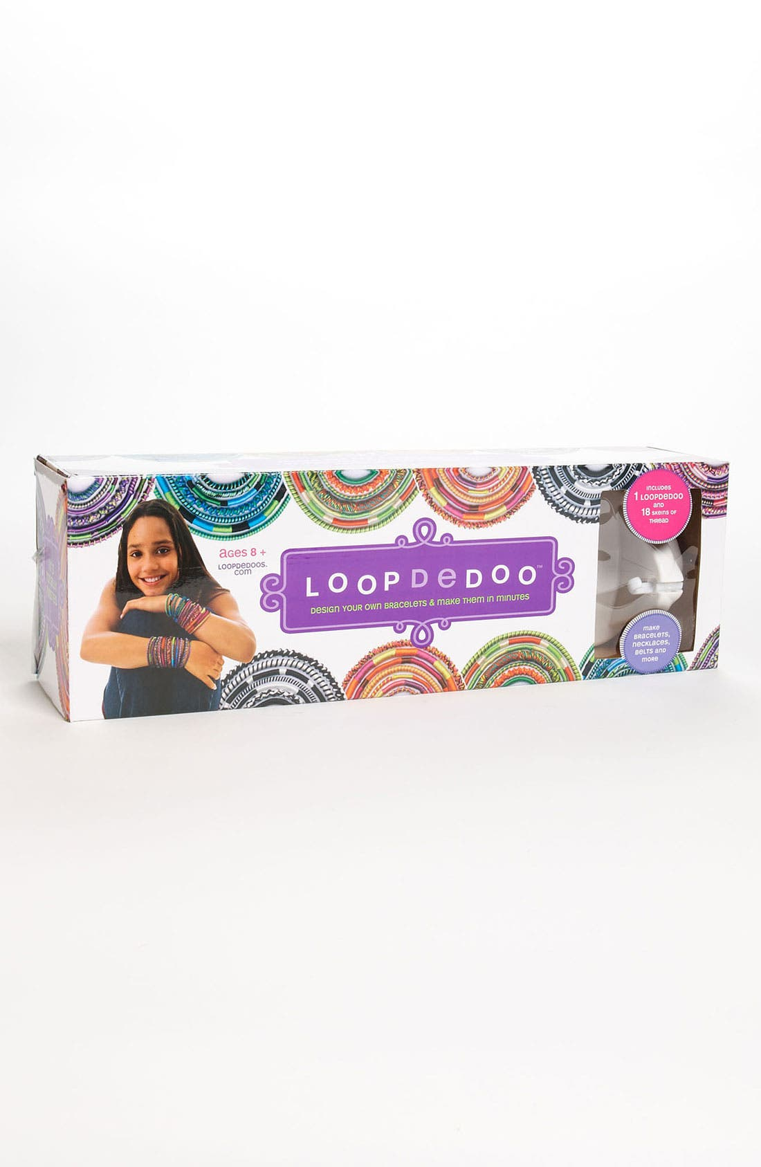 Alternate Image 2  - Loopdedoo™ Friendship Bracelet Machine (Girls)