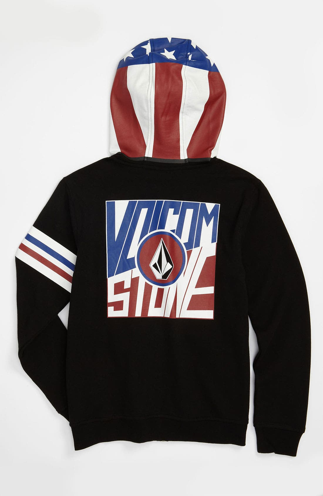 Alternate Image 2  - Volcom 'Inyoface' Mask Hoodie (Big Boys)