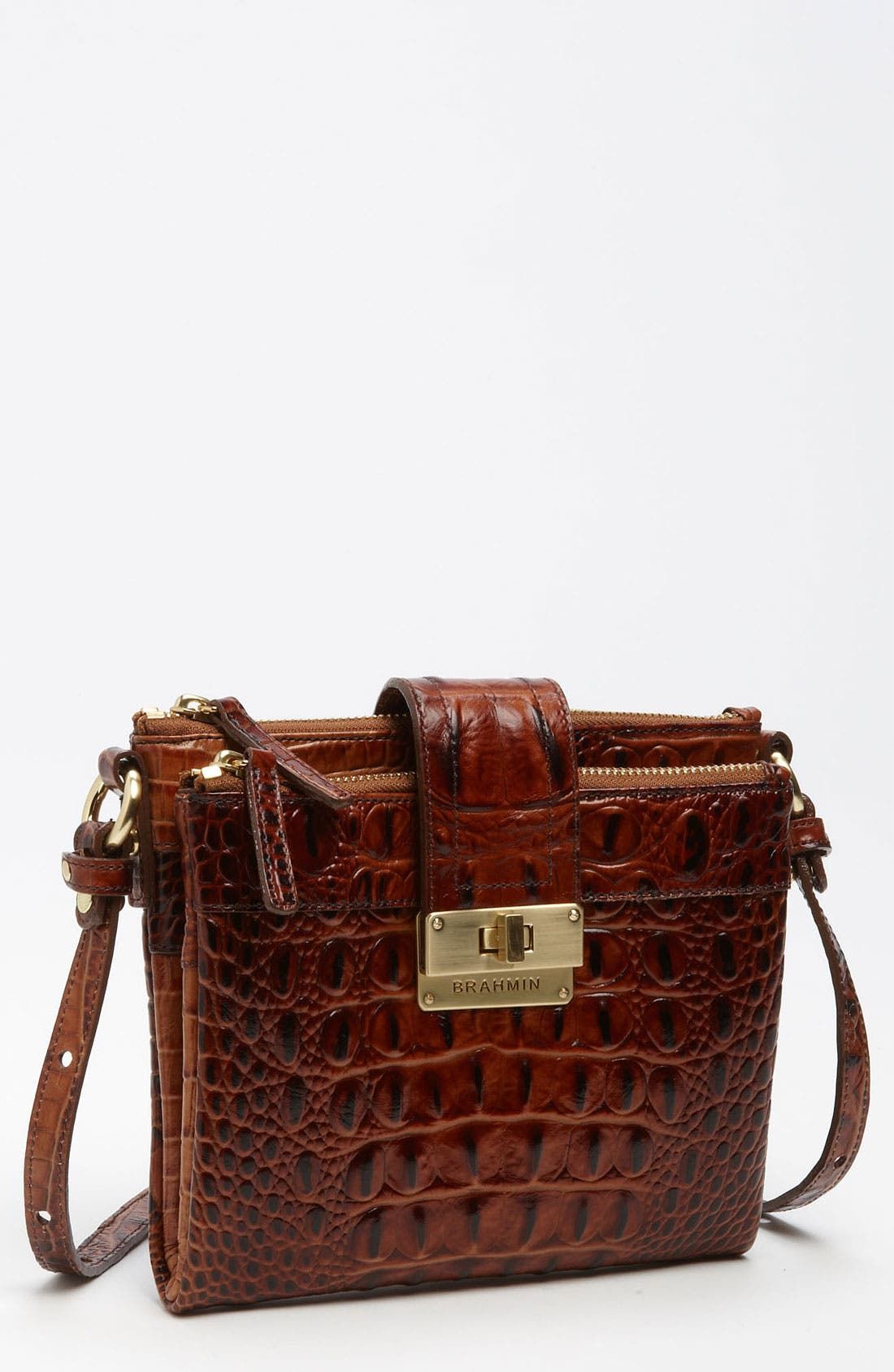 Main Image - Brahmin 'Melbourne Mojito' Crossbody Bag