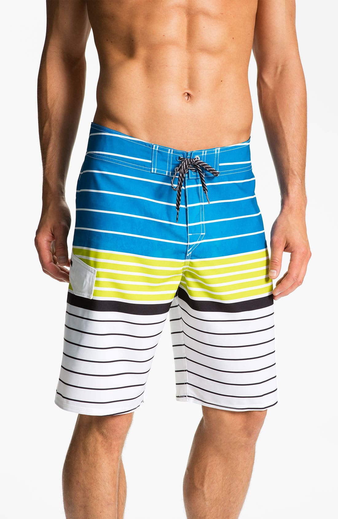 Alternate Image 1 Selected - Quiksilver 'Trolling' Board Shorts