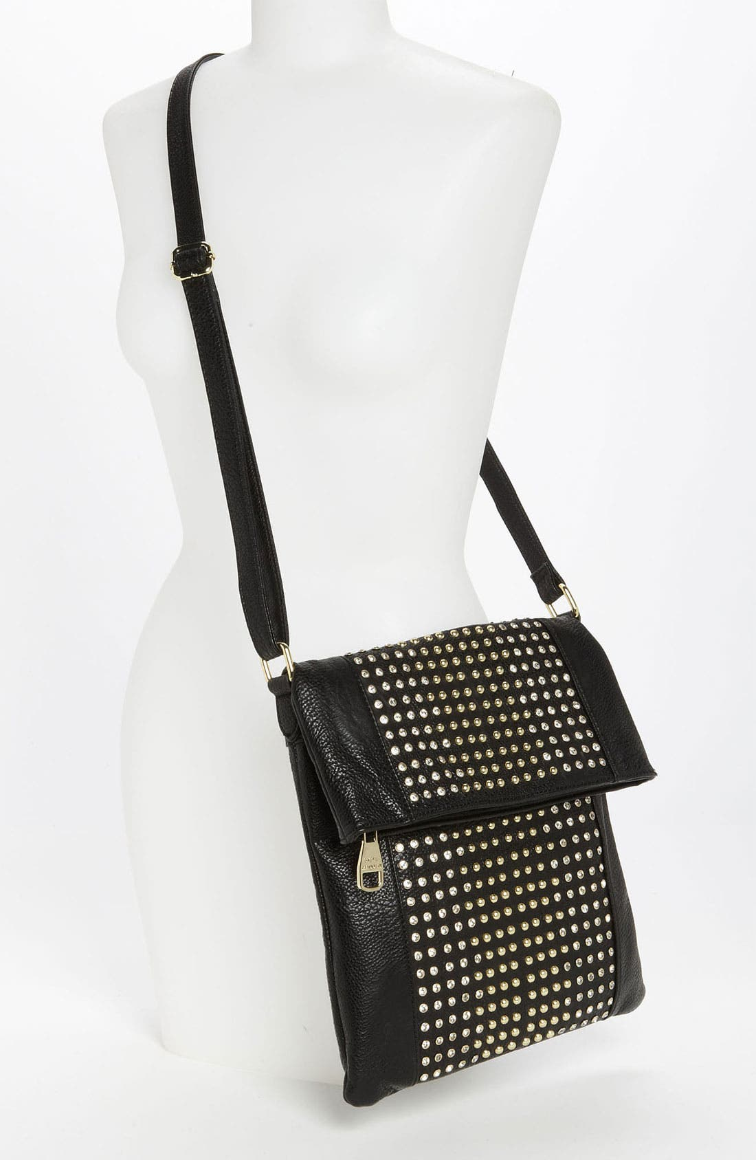 Alternate Image 2  - Steve Madden 'Stud Love' Foldover Crossbody Bag