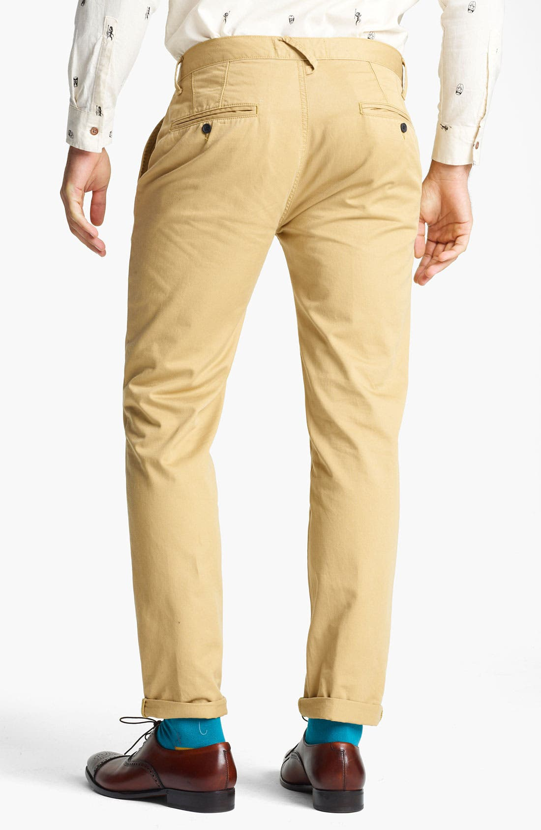 Alternate Image 2  - Topman 'Davies' Skinny Chinos