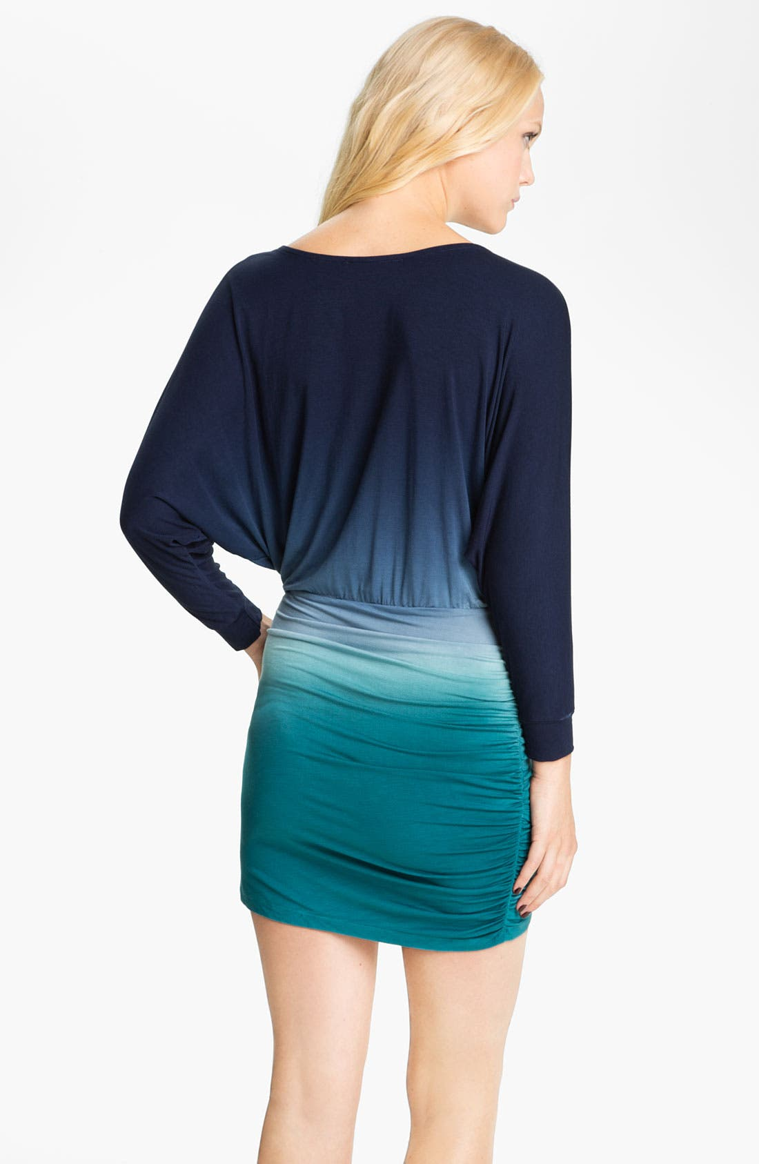 Alternate Image 2  - Young, Fabulous & Broke 'Heidi' Tie Dye Dolman Dress