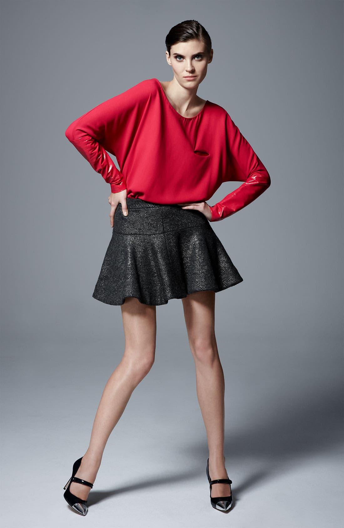 Alternate Image 6  - Thakoon Foiled Knit Skirt