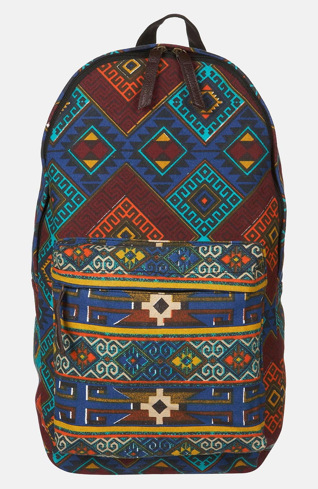 Main Image - Topman Pattern Print Backpack