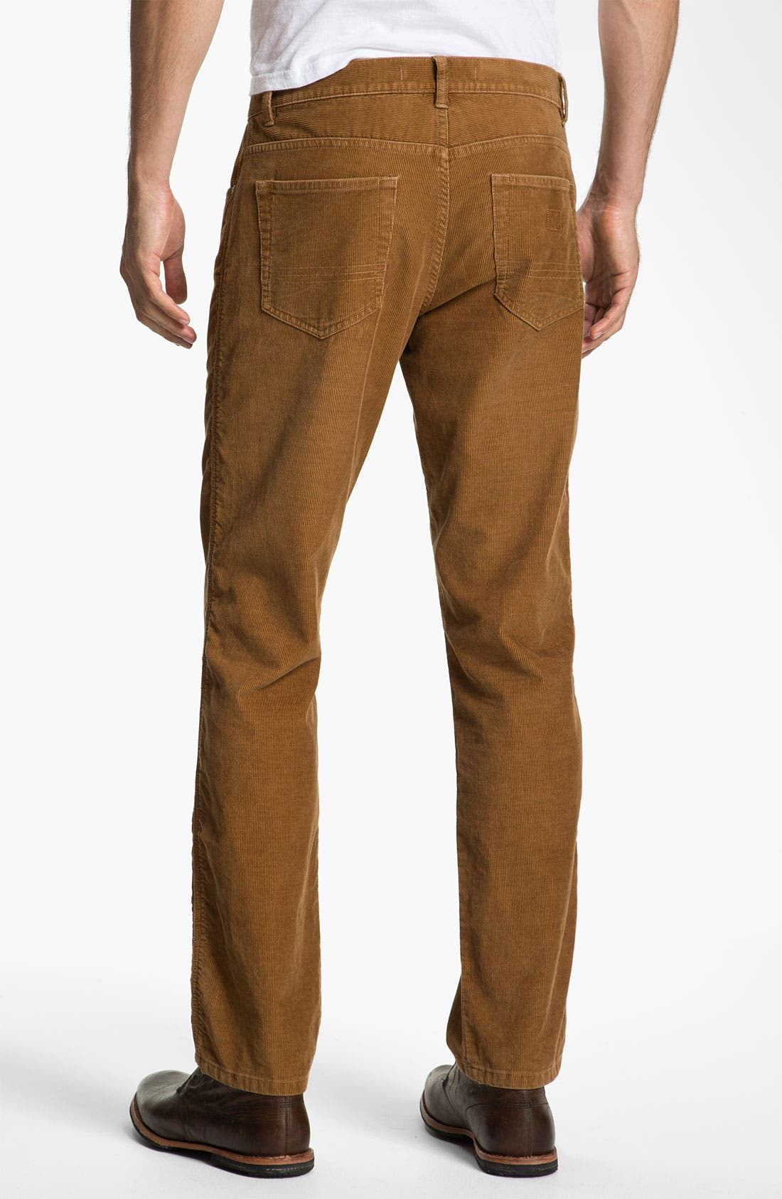 Alternate Image 2  - Brooks Brothers Slim Fit Corduroy Pants