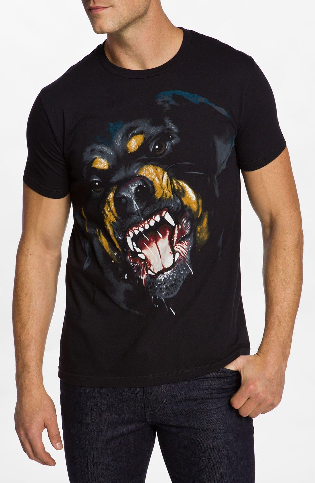 'Rottweiler' T-Shirt,                         Main,                         color, Black