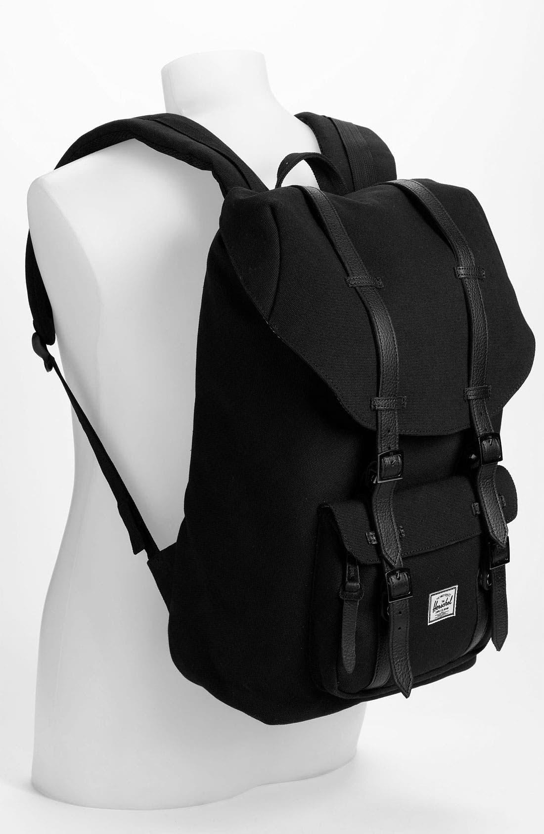 Alternate Image 4  - Herschel Supply Co. 'Little American 20' Canvas Backpack